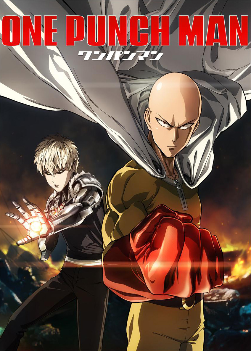 One Punch Man Temporada 1 Audio Dual (Jap/Lat) 1080p