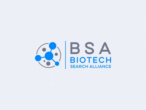 Logo Website Design BSA Biotech Search Alliance