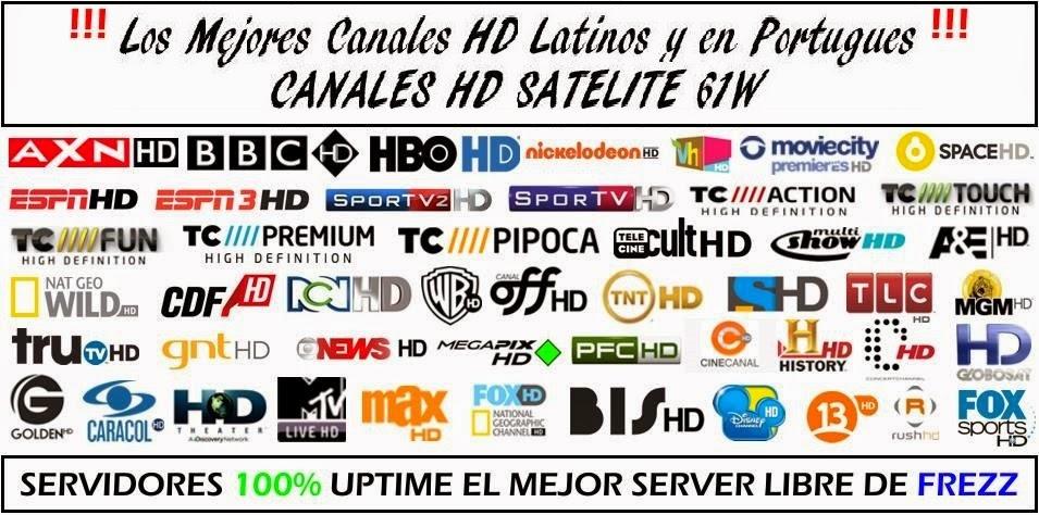 Venta Receptores Satelitales - FTA Uruguay: Canales