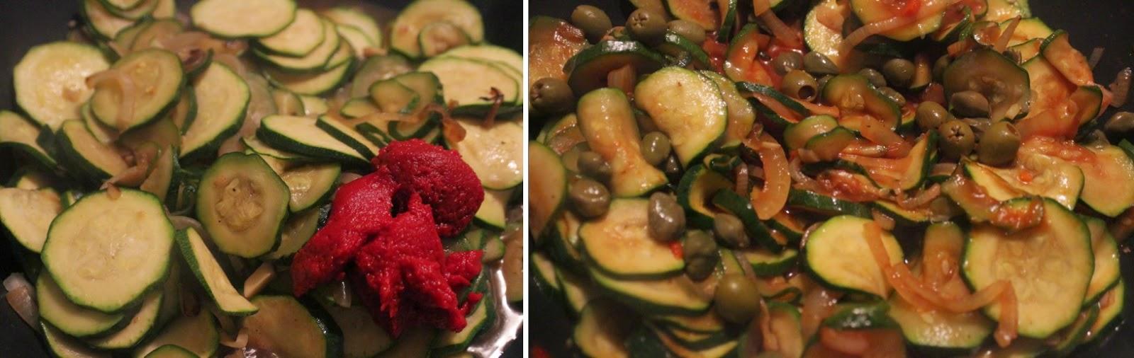 kuchnia świata, maltańska kuchnia, cukinie w sosie, qarabali biz-zalza pikkanti