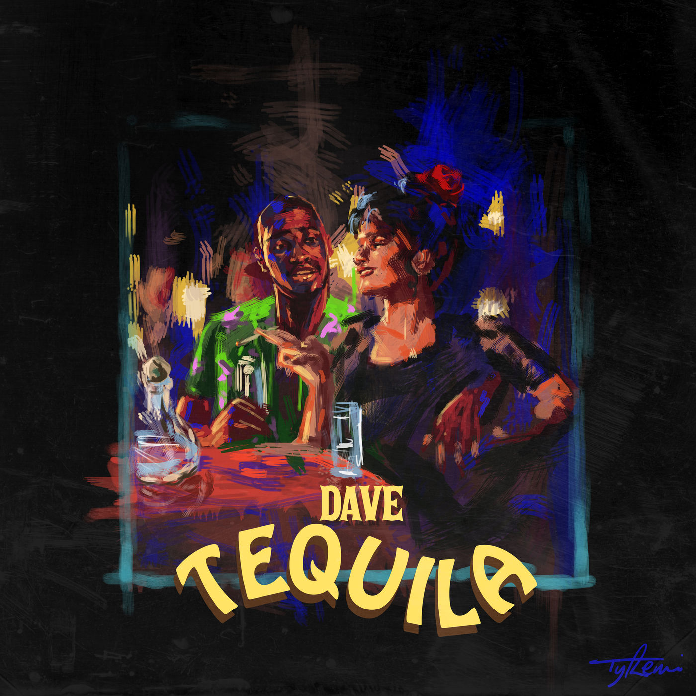 Dave - Tequila - Single Cover