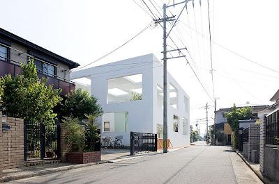 Fachada Exterior Vivienda Casa N Sou Fujimoto Japón