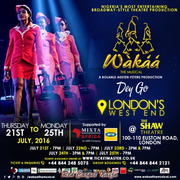 WAKAA THE MUSICAL LONDON