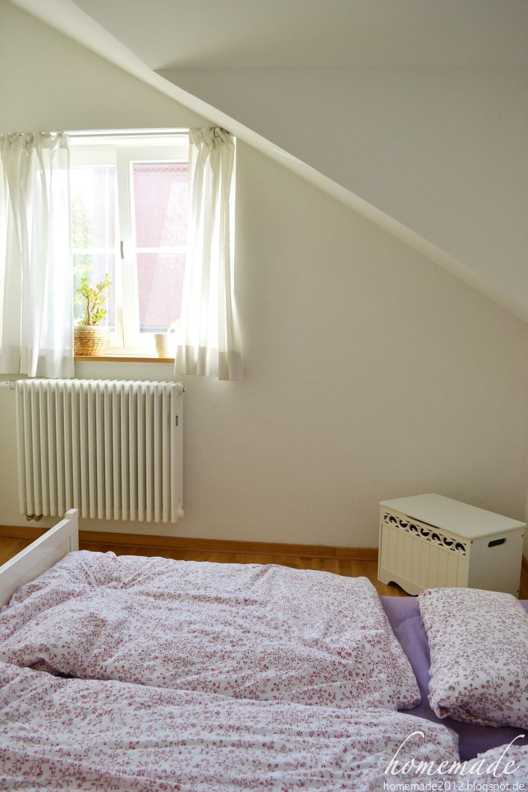 homemade impressionen schlafzimmer. Black Bedroom Furniture Sets. Home Design Ideas