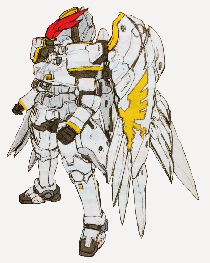 Tallgeese Wing or Tallgeese Flugel - Glory of Losers ver