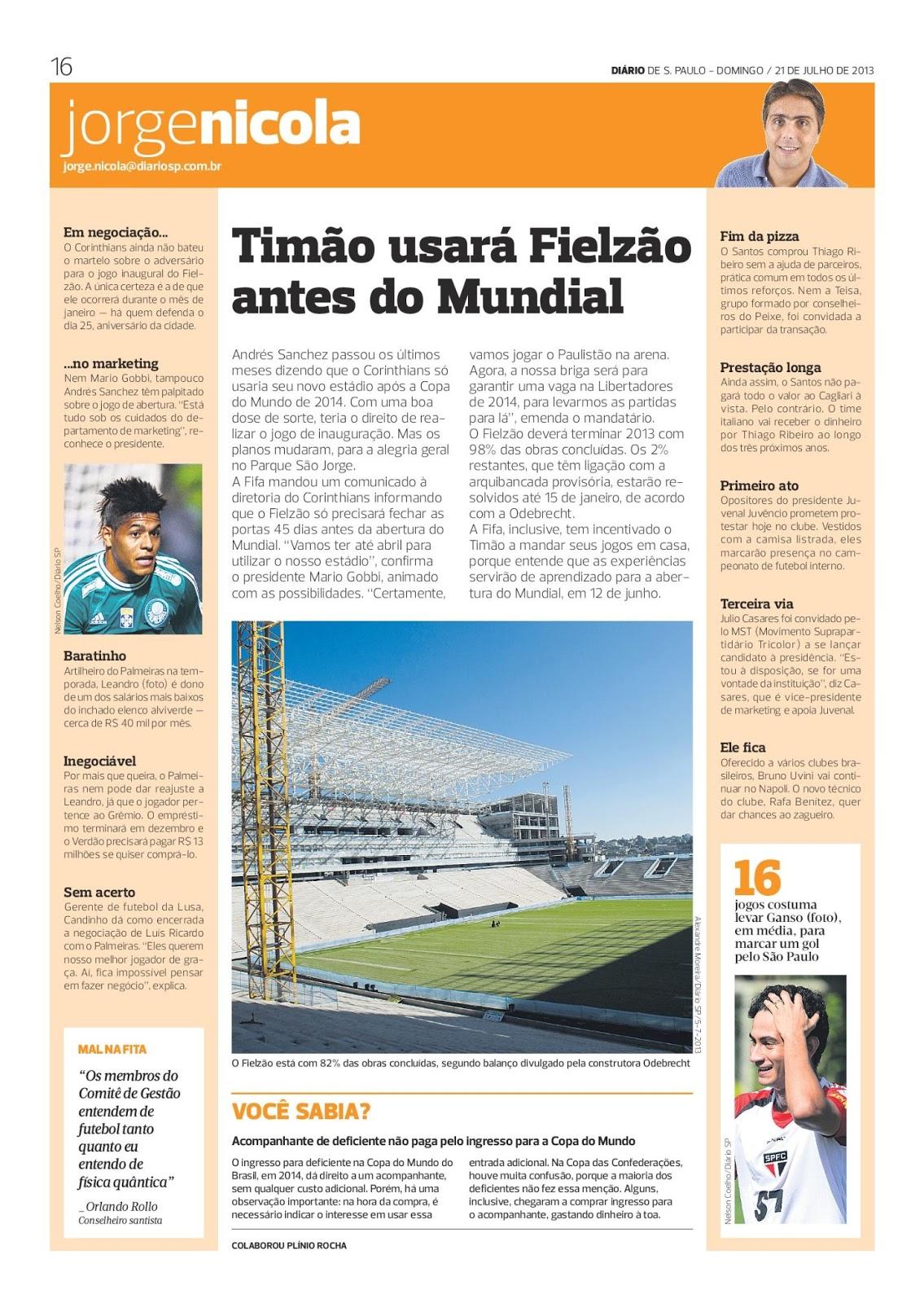 Blog do Jorge Nicola  Julho 2013 6549aac5fecba