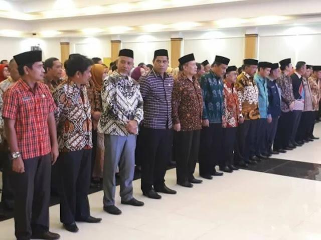 Foto Deretan Nama 14 Kepala OPD yang Dimutasi Gubernur Sulbar