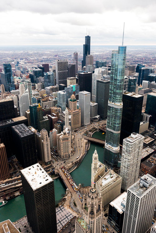 Обои небоскребы, мичиган, chicago, чикаго, иллиноис. Города foto 8