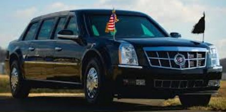 US President donald trump's car The Super Sophisticated