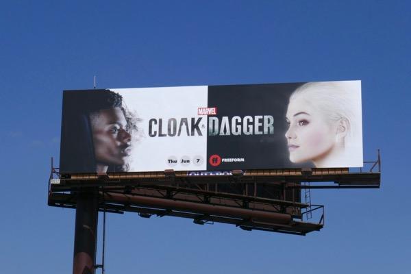 Cloak & Dagger series billboard