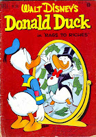 Donald Duck / Four Color Comics v2 #356 - Carl Barks 1940s comic book cover art