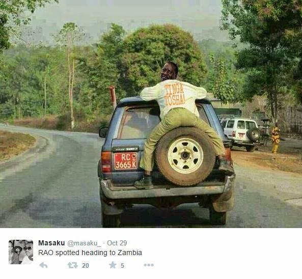 See Funny Memes After Raila Odinga Heard Of The Presidential Vacancy In Zambia And Burkina Faso