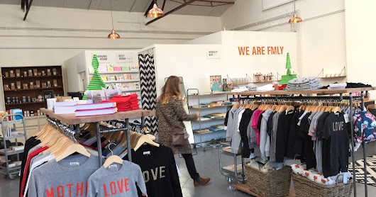 MUMMY LIFE // A VISIT TO THE OPENING OF THE FMLY STORE IN BRUTON
