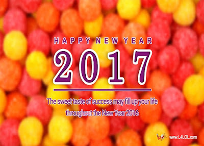 2017 New Year Messages Ecards