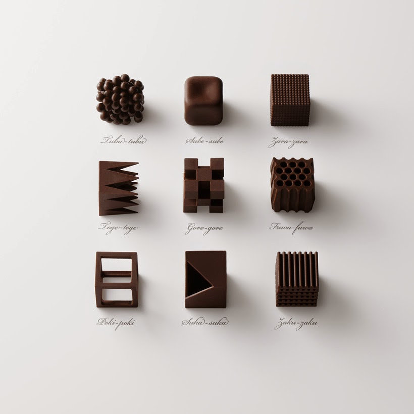 Chocolatexture collection - words