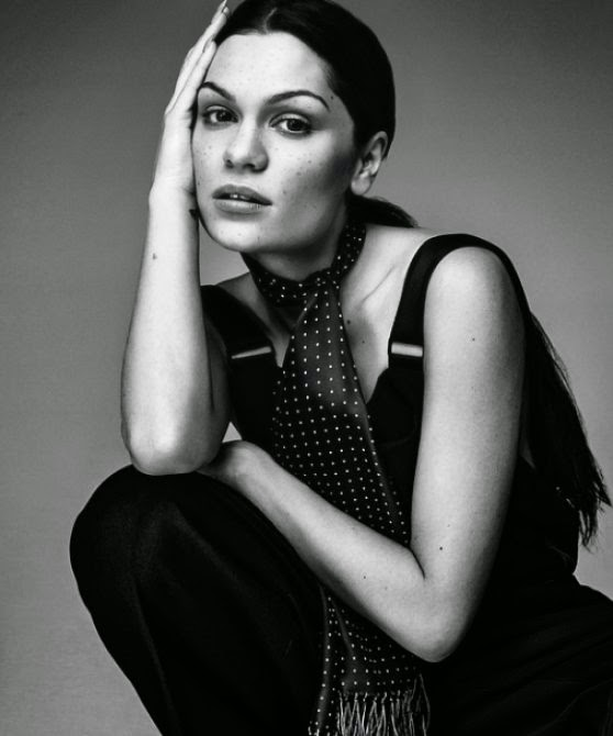 Jessie J features as the cover star of Glamour UK January 2015 edition