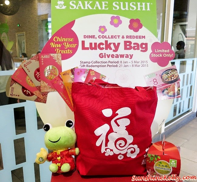 Sakae Sushi CNY Treats, Gift of Love, Fortune Salmon Yee Sang, Sakae Fortune Froggie, HOPE Worldwide Malaysia