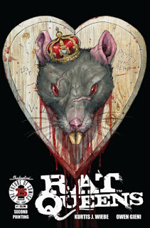 Rat Queens, vol. 2 #1 Second-Printing- Variant A