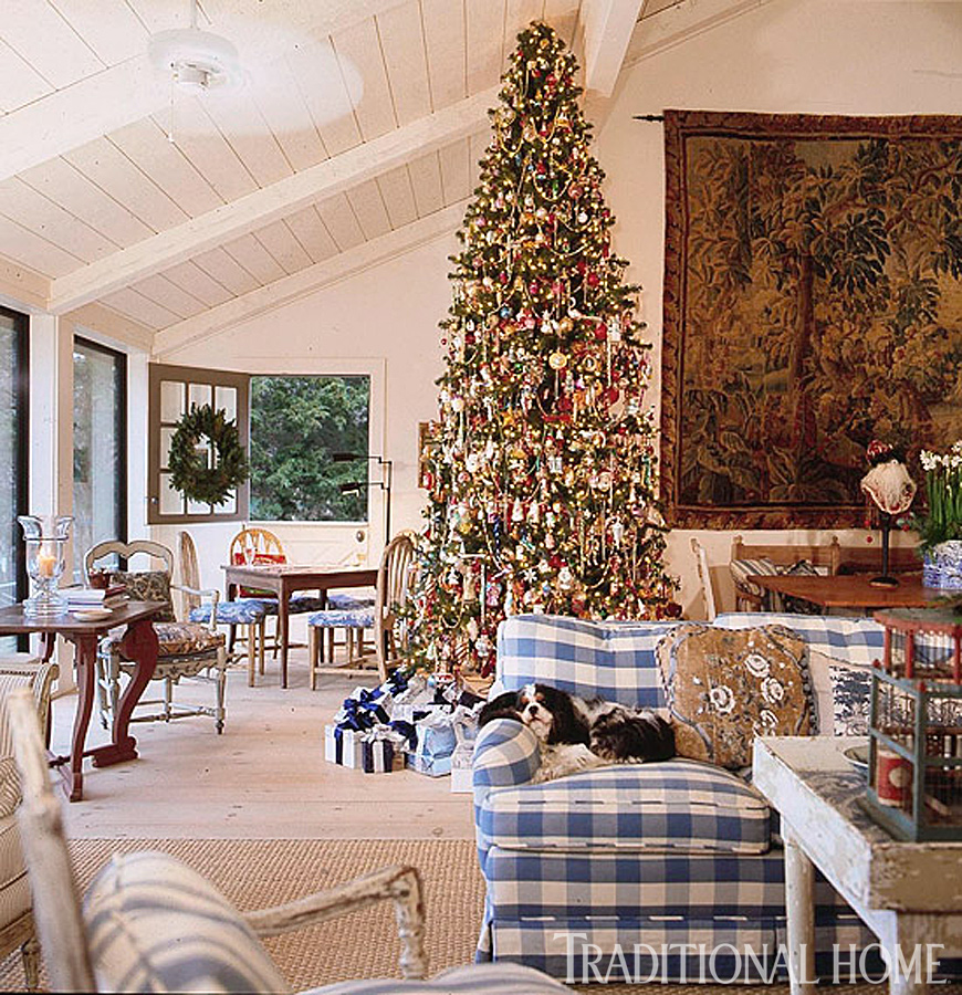 Hydrangea Hill Cottage: French Country Christmas At The Cabin