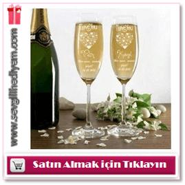 Kişiye Özel Şampanya Kadehleri
