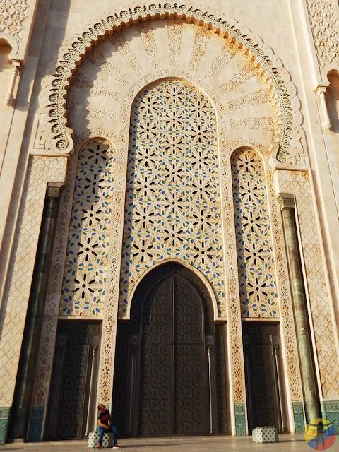 Detalles de la Mezquita Hassan II