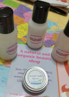 good earth travel set and balm