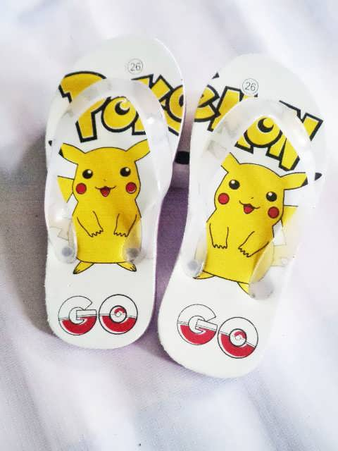Sandal Karakter Pokemon Anak