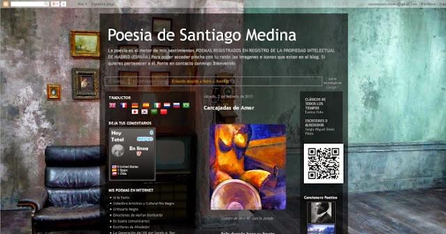 http://www.poesiadesantiagomedina.blogspot.com/