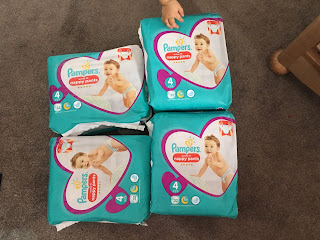 We Have Converted! *Pampers Nappy Pants