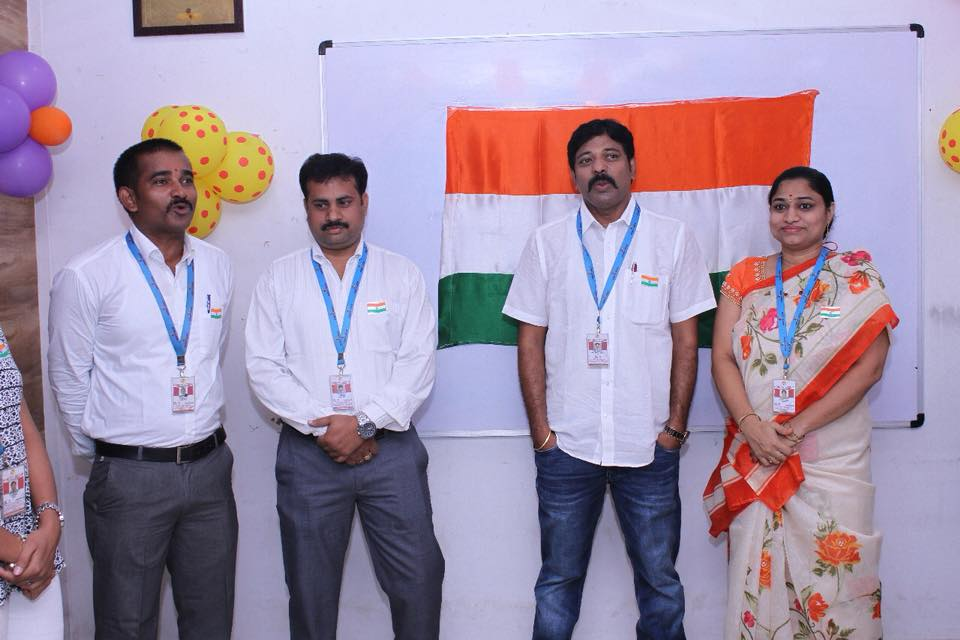 72nd INDEPENDENCE DAY Celebrations at - HONEYYGROUP Branches