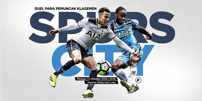 Prediksi Skor Tottenham Hotspur vs Manchester City | Malam Ini