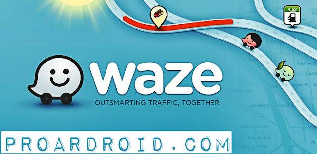 تطبيق الخرائط والتنقل Waze – GPS, Maps & Traffic v4.43.1.905 كامل للاندرويد logo