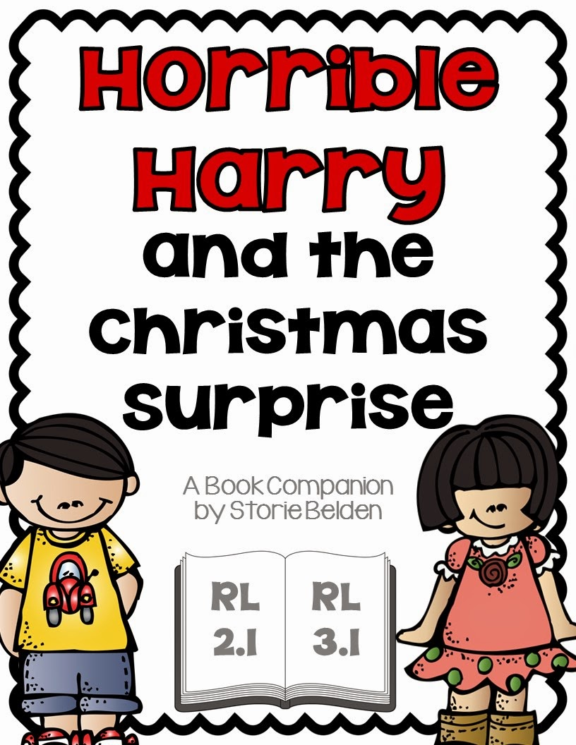http://www.teacherspayteachers.com/Product/Horrible-Harry-and-the-Christmas-Surprise-Comprehension-Questions-778808