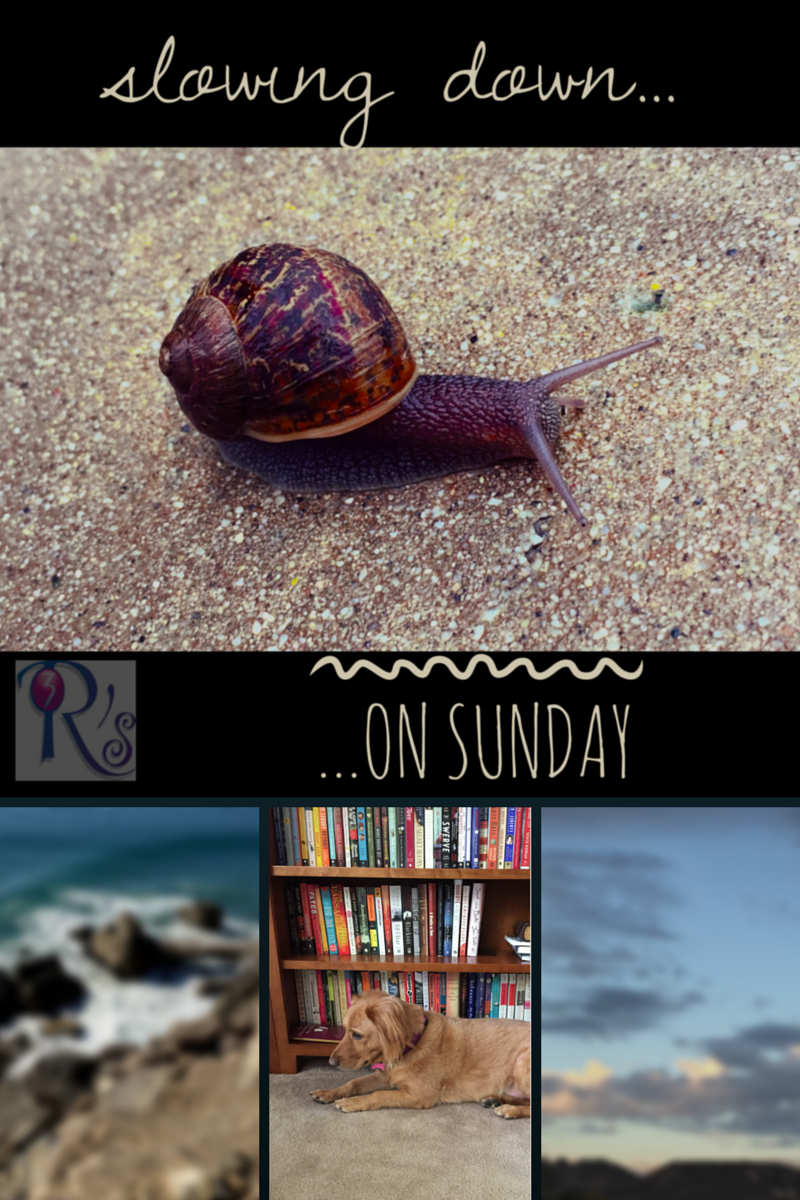Sunday Slowdown, weekly on The 3 Rs Blog