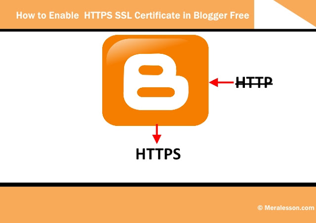 How to Enable  HTTPS SSL Certificate in Blogger Free