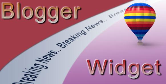 How To Add Breaking News Widget in Your Blog