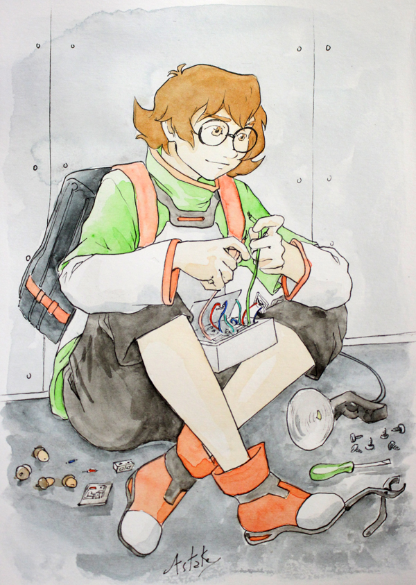 Pidge de Voltron : Legendary Defender - fanart