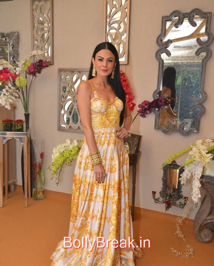 Anchal Kumar, Anchal, Evelyn, Arpita at Bridal Asia Show Media Preview