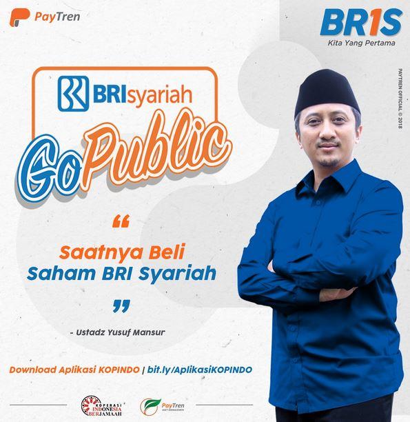 BRI Syariah ajak anak milenial jadi investor lewat Sukuk Tabungan ST-003