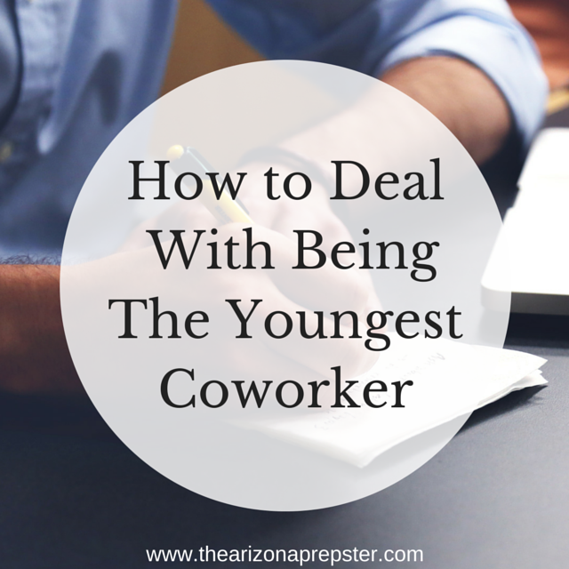 How to Deal with Being The Youngest Coworker