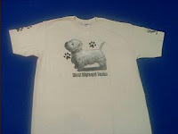 west highland white terrier westie t shirt