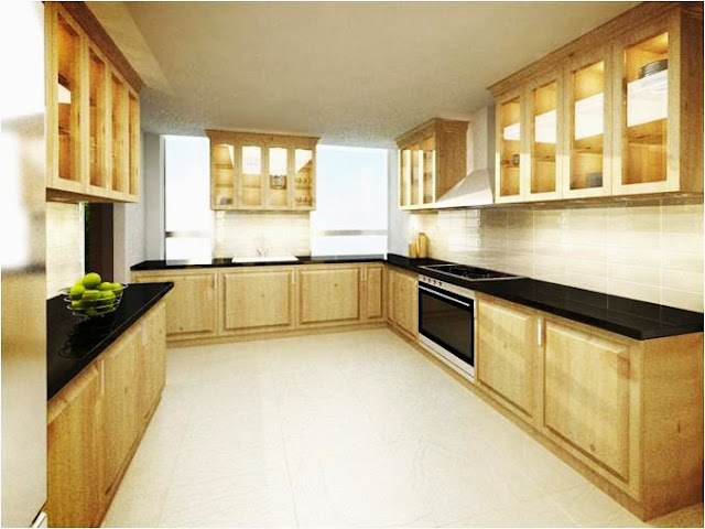 Kitchen design with traditional style.
