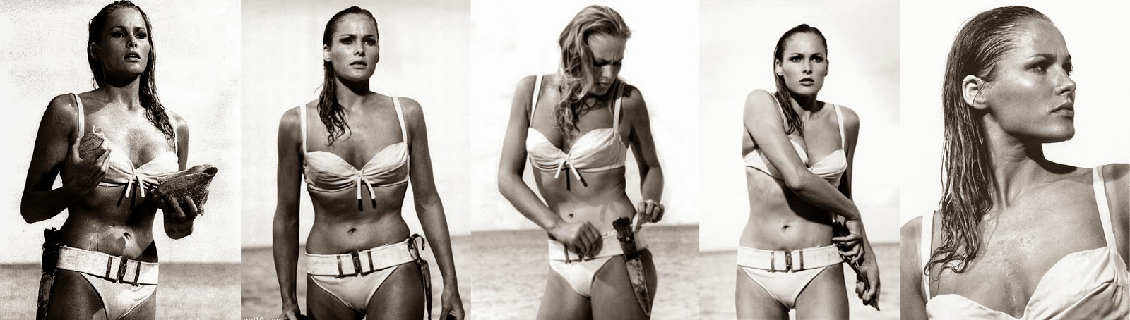 ursula andress bikini beach james bond