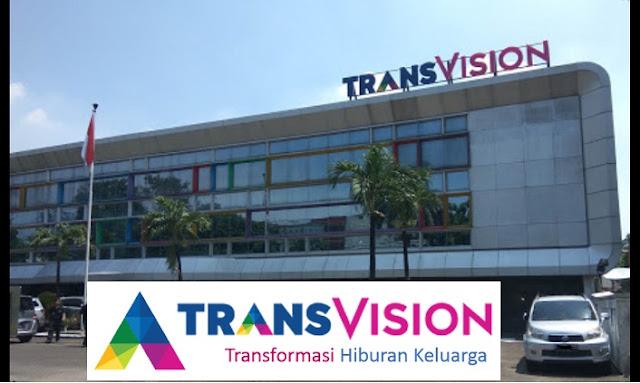 Lowongan Kerja PT Indonusa Telemedia (TransVision) Dengan Posisi Trans VP, Sales Promotion, Etc Lulusan SMA, SMK, Diploma, Sarjana Terbaru 2019