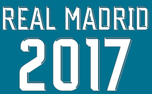 File Corel Draw Font Jersey Real Madrid 2018