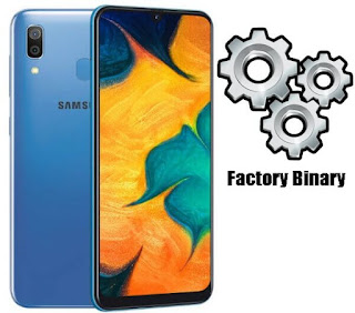 Samsung Galaxy A30 SM-A305FN Combination Firmware