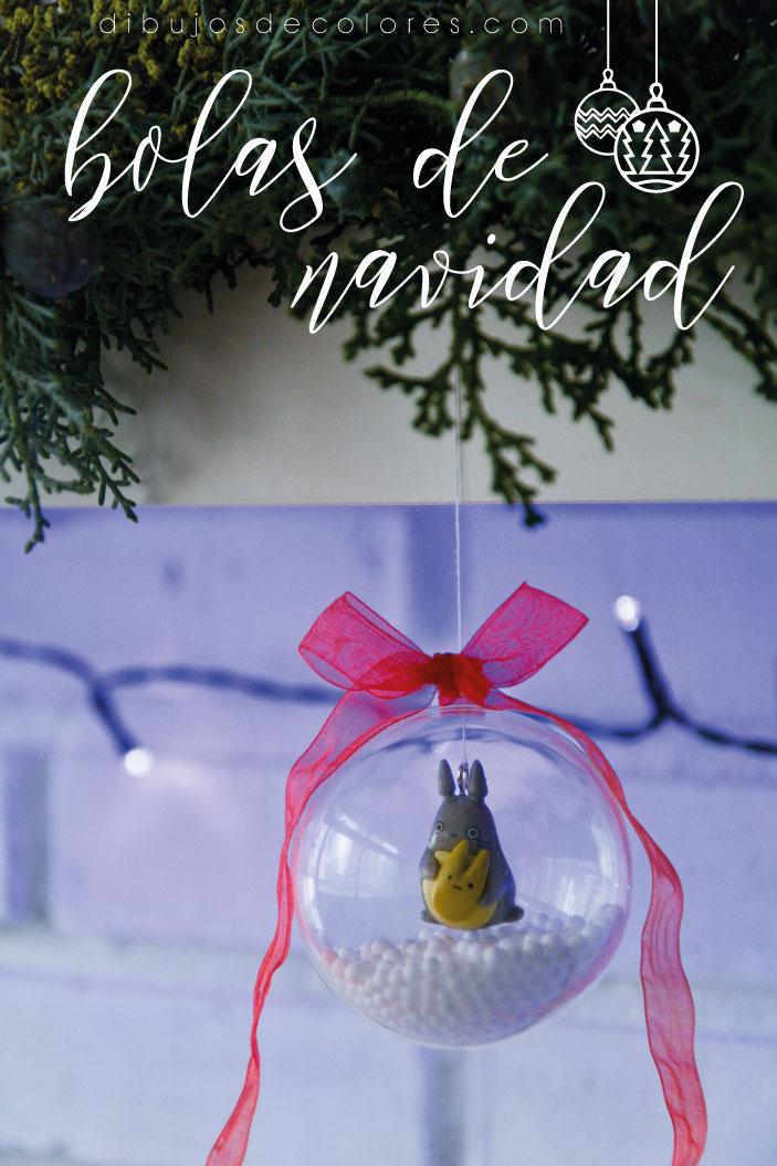 Bola de navidad de Totoro