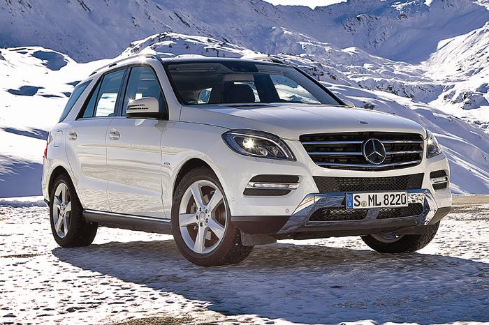 test drive and review of new mercedes ml 350. Black Bedroom Furniture Sets. Home Design Ideas