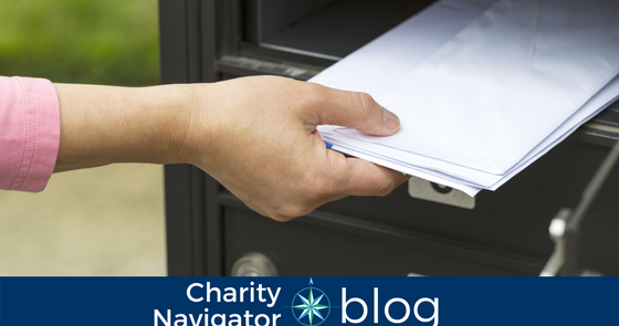 Charity Navigator's Guide to Managing Your Mailbox