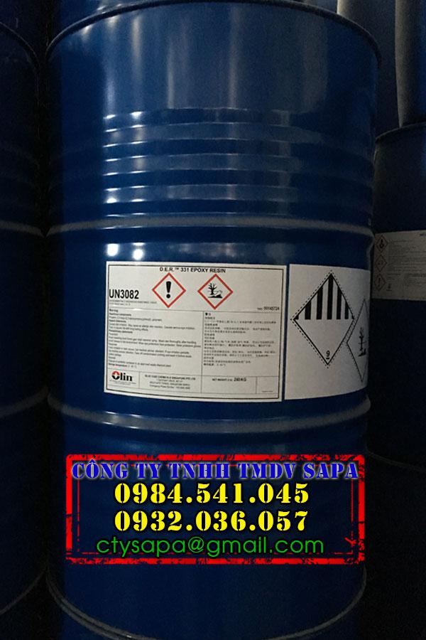 Hóa Chất SAPA   Nhựa Epoxy DER 331   Nhựa sản xuất sơn